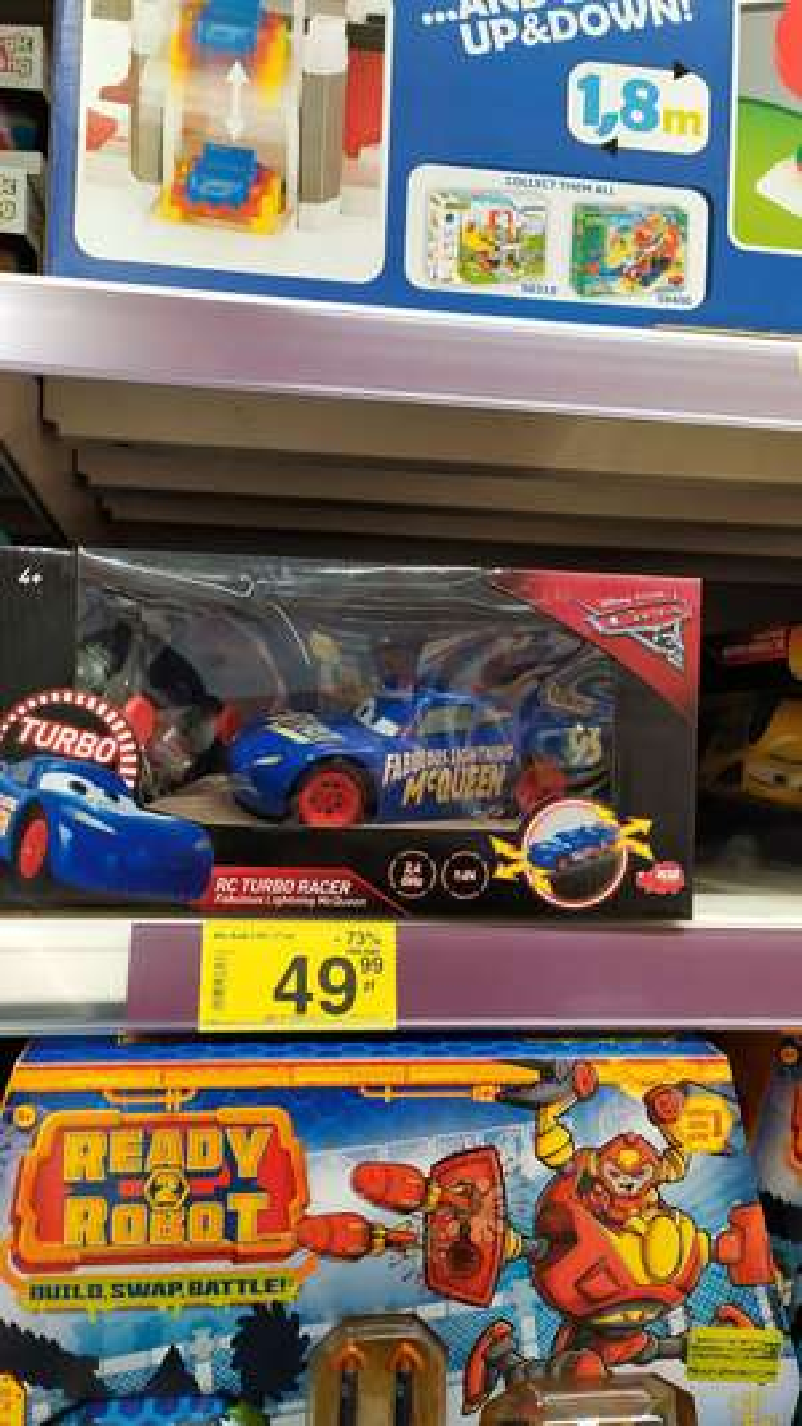 RC TURBO RACER autko z firmy Disney