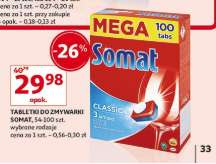 Tabletki do zmywarki Somat @Auchan