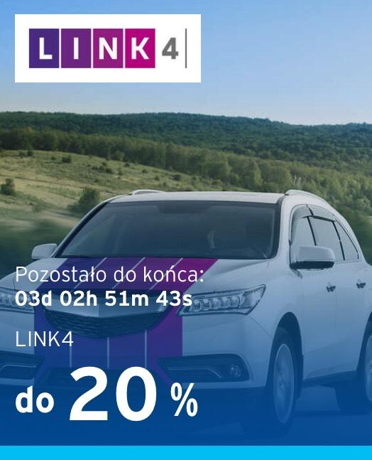 20% rabatu na OC lub OC/AC w Link4 - dla nowych klientów