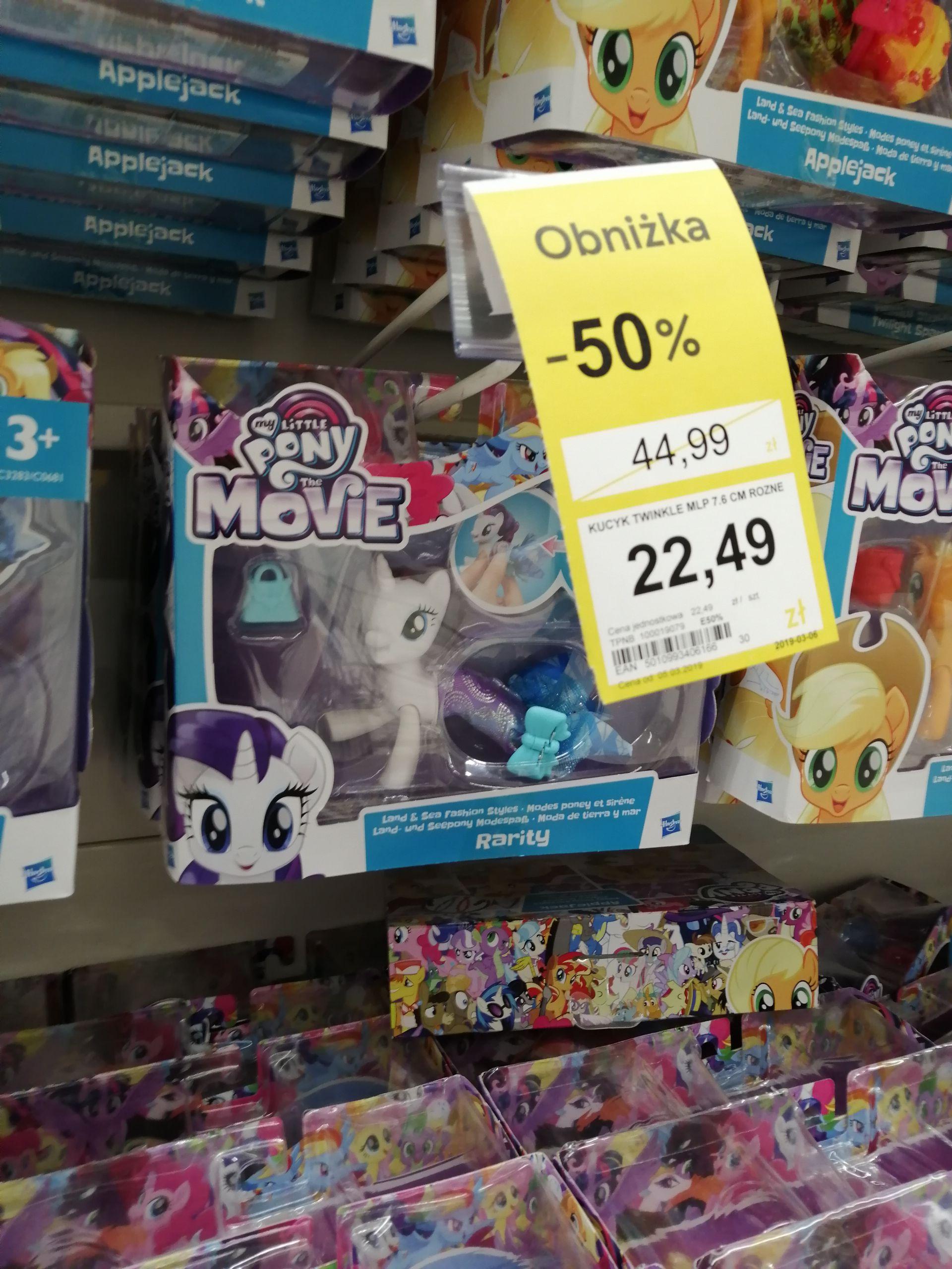 Kucyki oraz lalki  My Little Pony -50% /Tesco