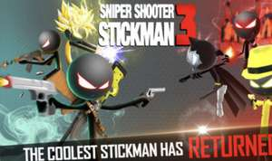 Sniper Shooter Stickman 3 Fury za darmo iOS