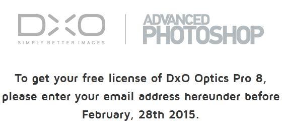 DxO Oprics Pro 8 (Win/Mac) za darmo