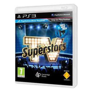 TV SUPERSTARS PS3 MOVE