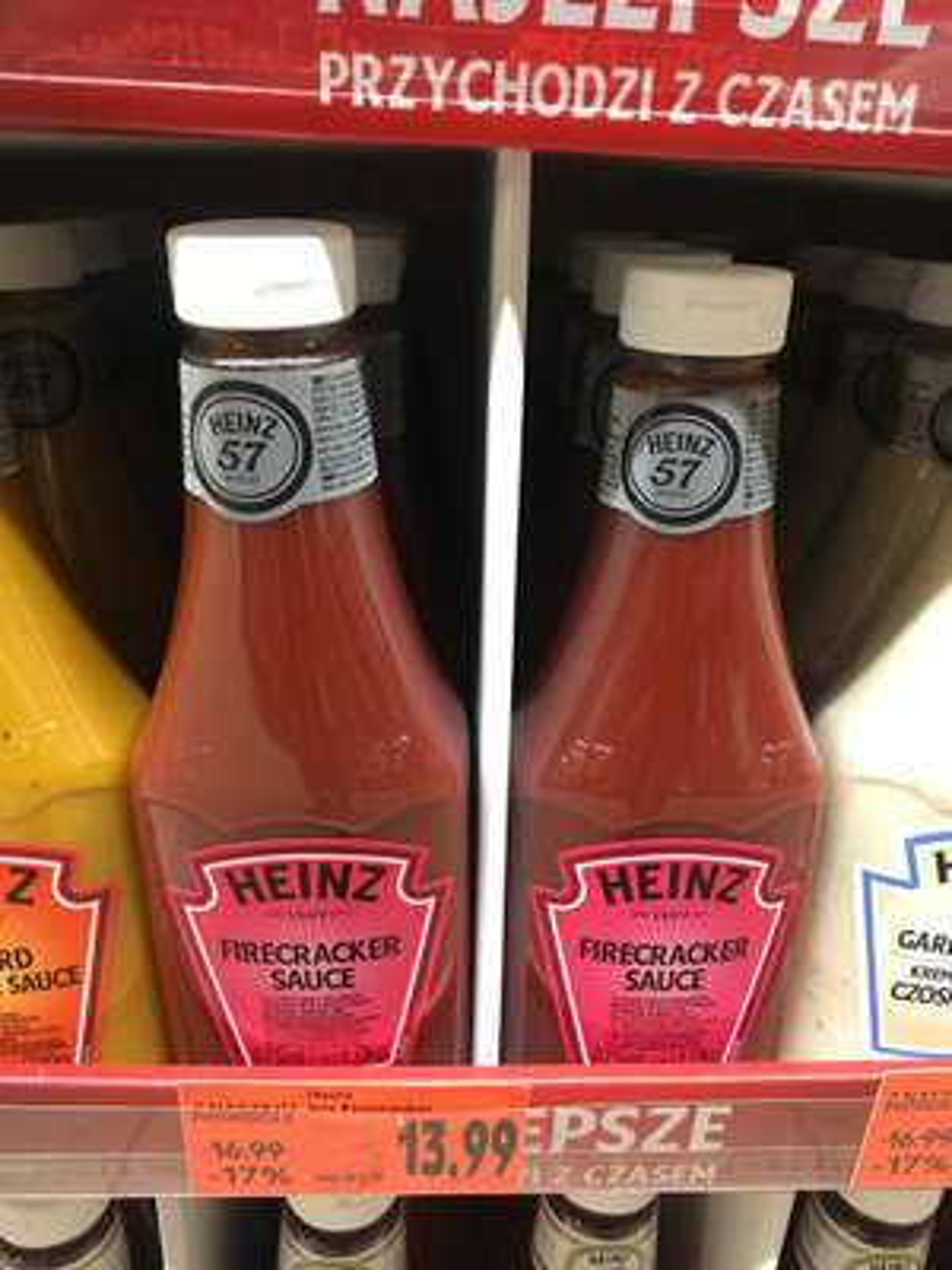 Sos Heinz Firecracker 875ml w Kaufland