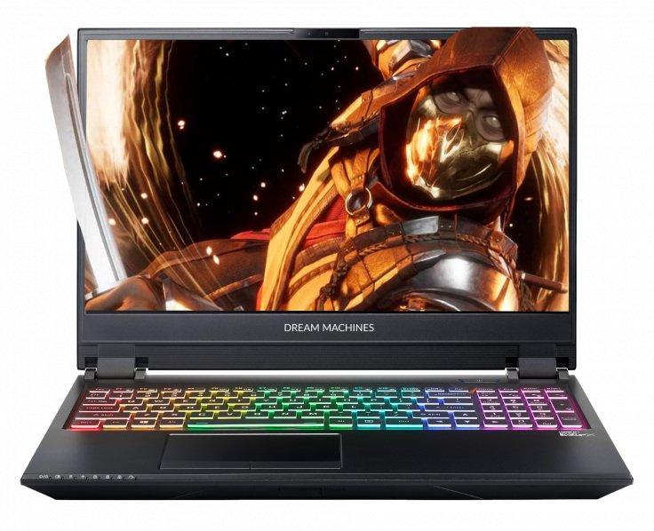 - Nowa Cena  - Laptop Dream Machines z RTX2060 w dobrej cenie + mysz i podkładka