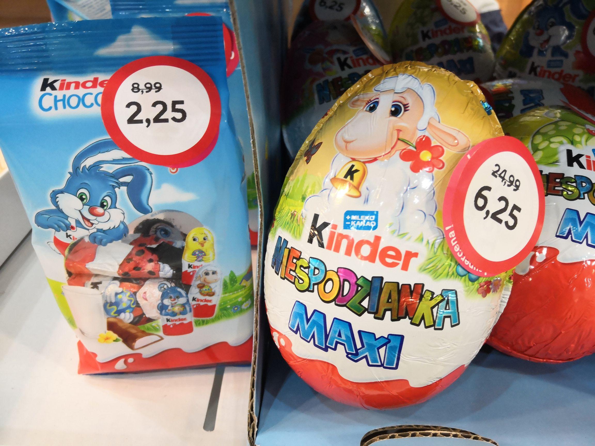 Empik - Duża Kinder Niespodzianka i mini czekoladki :)