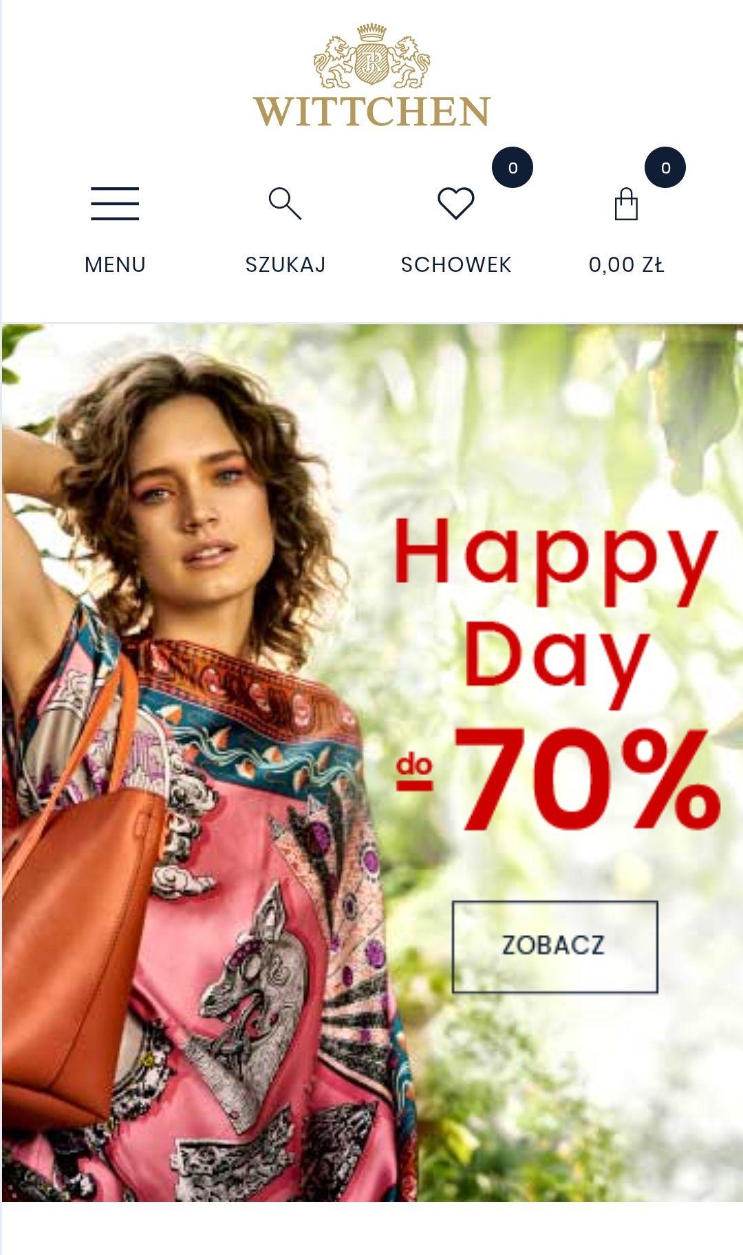 Happy day -70%