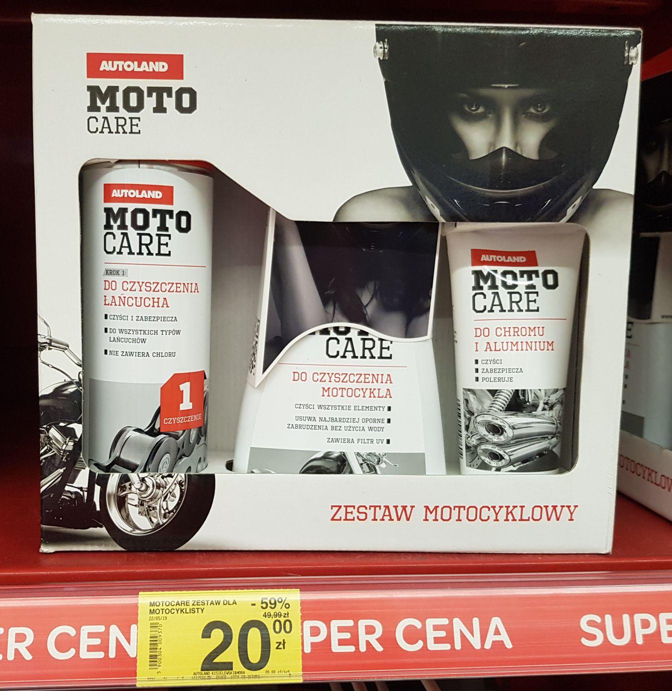 Zestaw motocyklowy Carrefour Białystok