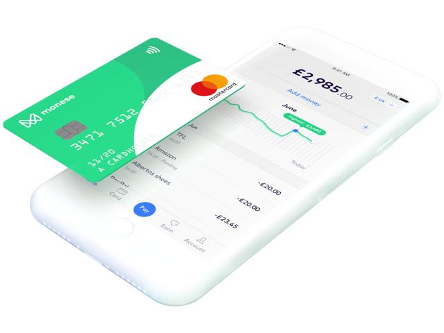 DARMOWE !! 15 funtów !! w aplikacji bankowej Monese + karta ZA DARMO