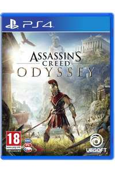 Assassins Creed Odyssey PL + nakładki na analogi PS4