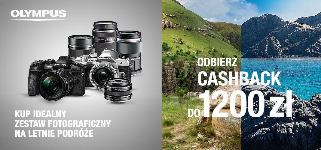 Cashback Olympus (wybrane sklepy)