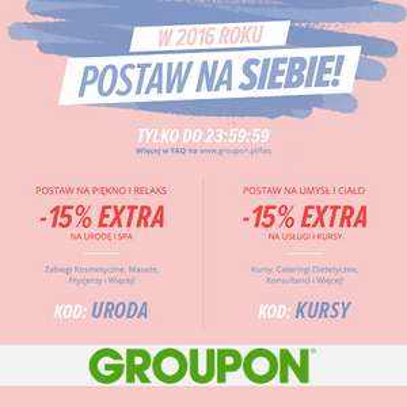 -15% Groupon + 10% Cashback @planetplus