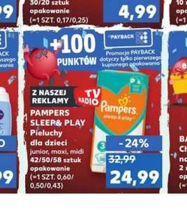 Pieluchy Pampers Sleep&Play - Kaufland