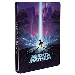 STEELBOOK  - AGENTS OF MAYHEM  wersja PL (PS4)