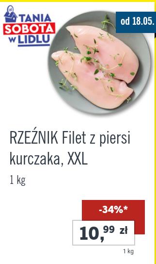 Filet z piersi kurczaka XXL (Lidl)