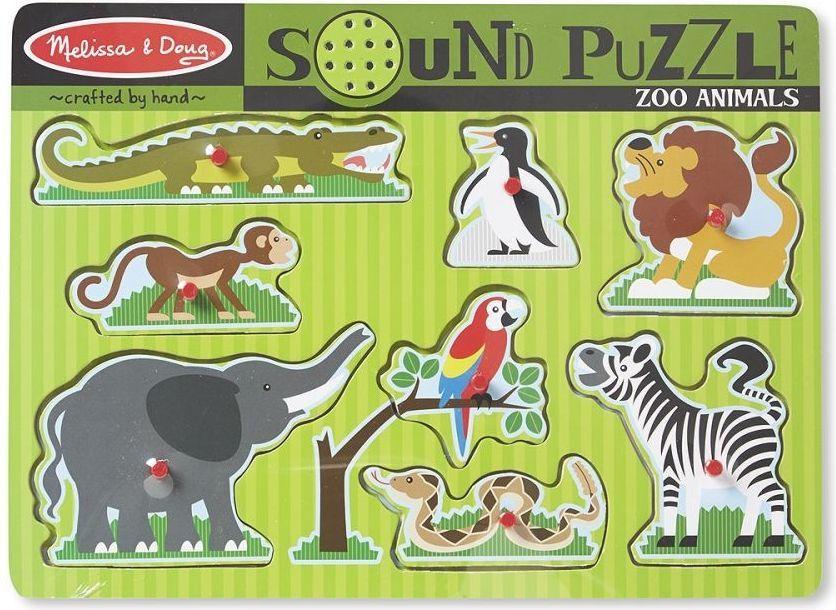 Puzzle dźwiękowe Melissa & Doug - Zoo za 14,99zł @ HulaHop