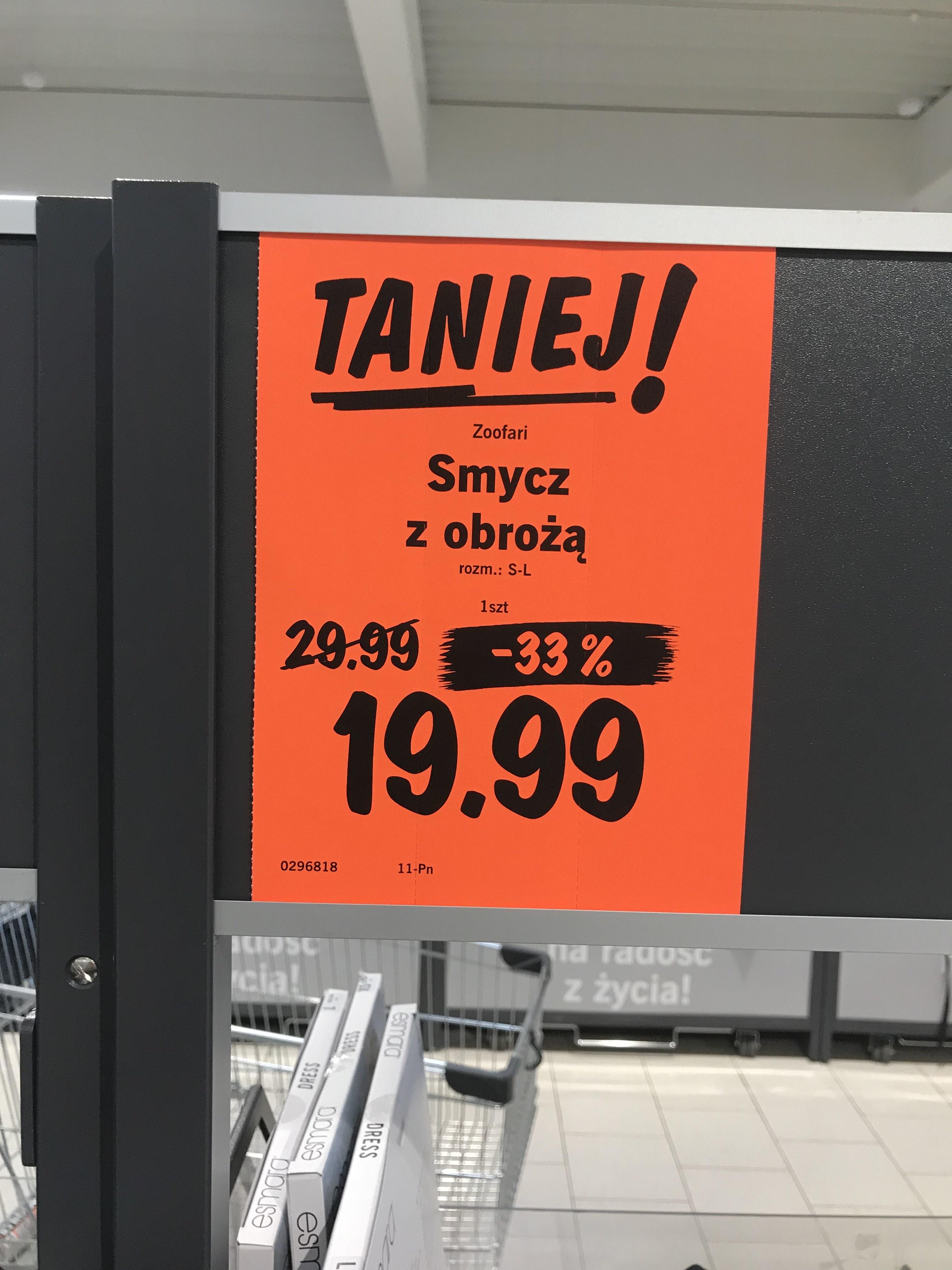 Zestaw smycz + obroża dla psa / Lidl Wrocław