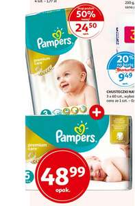 Pieluszki Pampers Premium Care Auchan