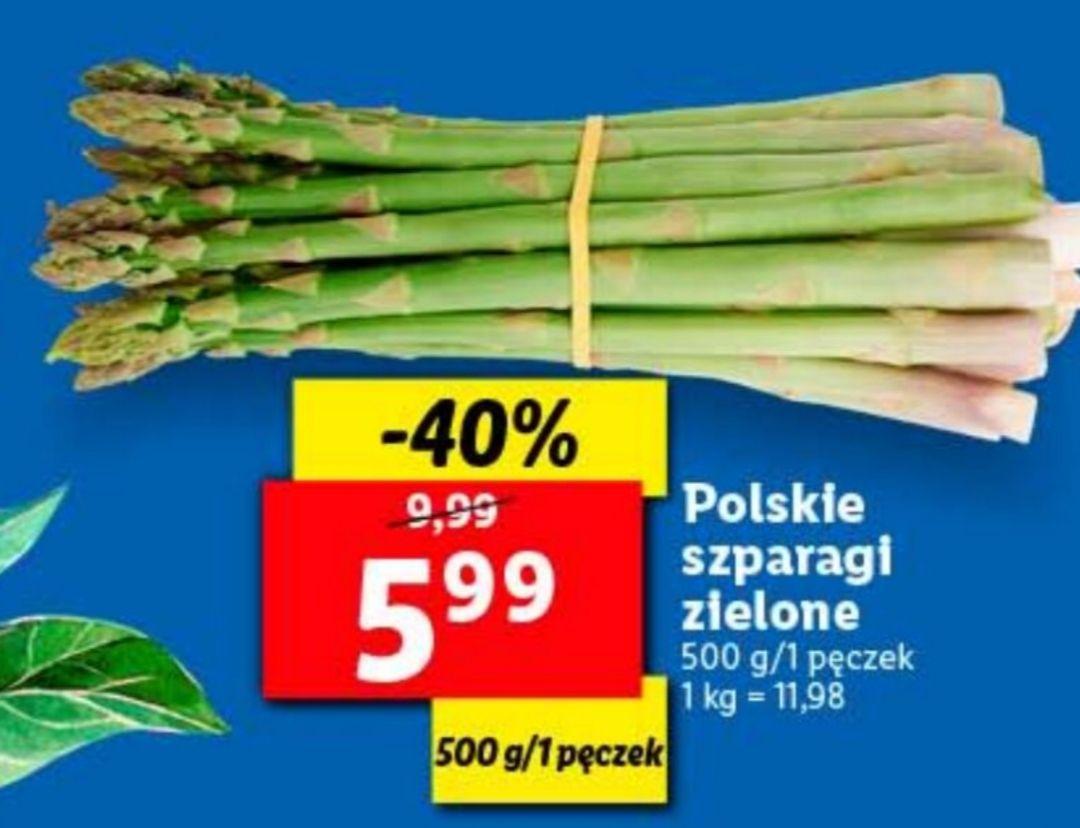 Szparagi Polskie od Poniedziałku Lidl