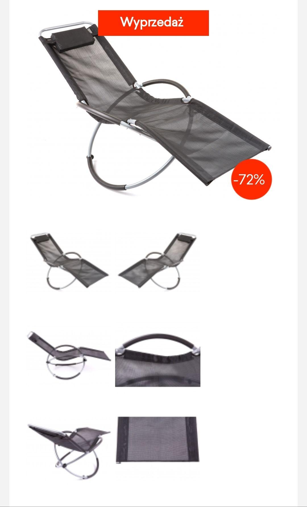 Leżak bujany -72%