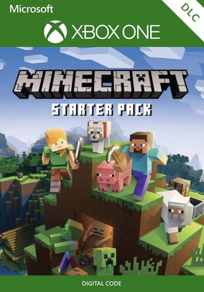 Minecraft Starter Pack Xbox One CDKEYS