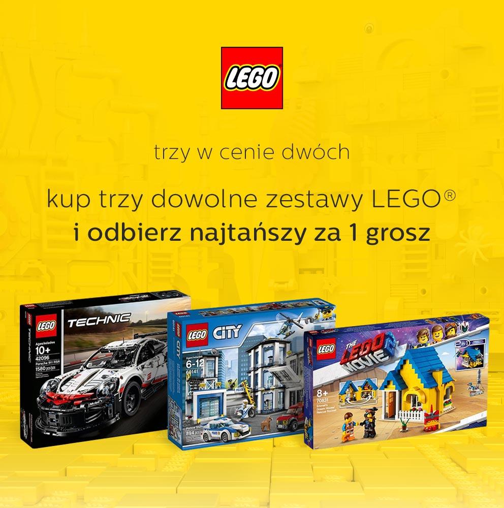 Lego 3 w cenie 2 al.to 19 - 21 maja