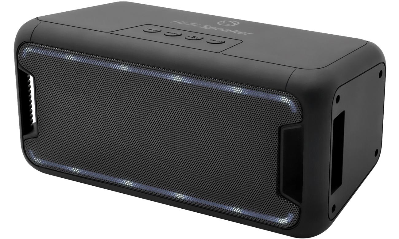 Głośnik bezprzewodowy Manta SPK555, RMS 6W, bluetooth, radio FM, mikrofon, Auchan