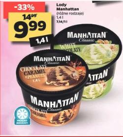 Lody Manhattan 1.4 L @Netto
