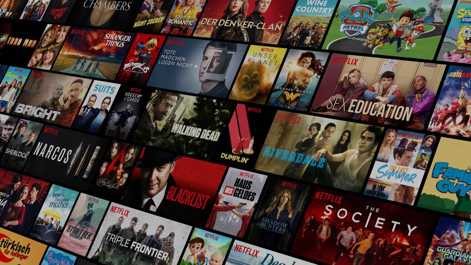 Netflix darmowy miesiąc próbny.