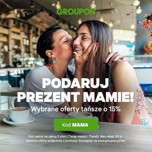 Groupon -15% na wybrane oferty Twoje miasto i Travel