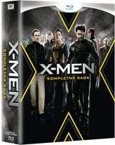 X-Men: Kompletna Saga (Blu-ray, polskie napisy) 159,99zł @EMPIK