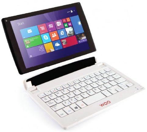WOO PAD 841W z Windows 8.1 + Bezprzewodowa klawiatura & mysz + Office 365 @ Auchan