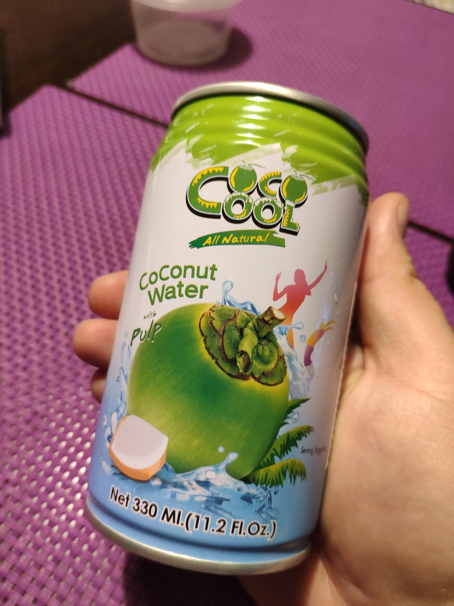 Woda kokosowa Coco Cool 0,33l. Wyprzedaż w Piotr i Paweł