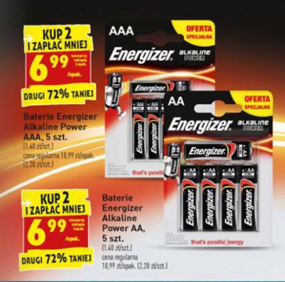 Baterie Alkaliczne Energizer Biedronka przy zakupie 2 op. Do Promki Booking.com