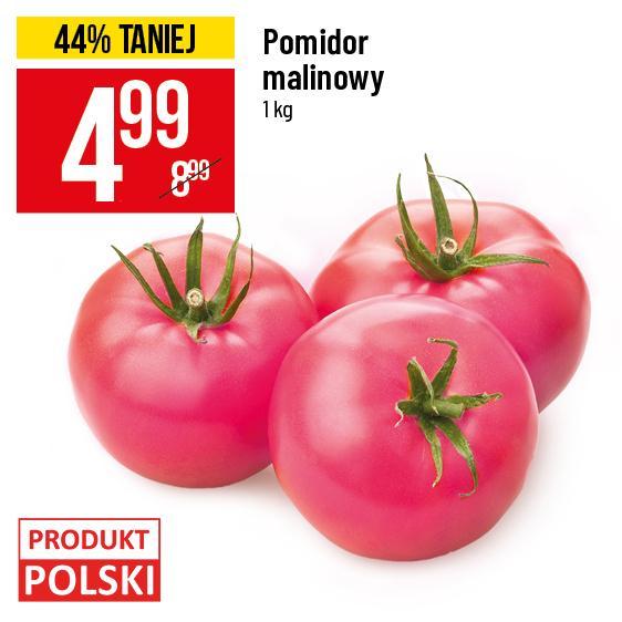 Pomidory malinowe Polskie @POLOmarket