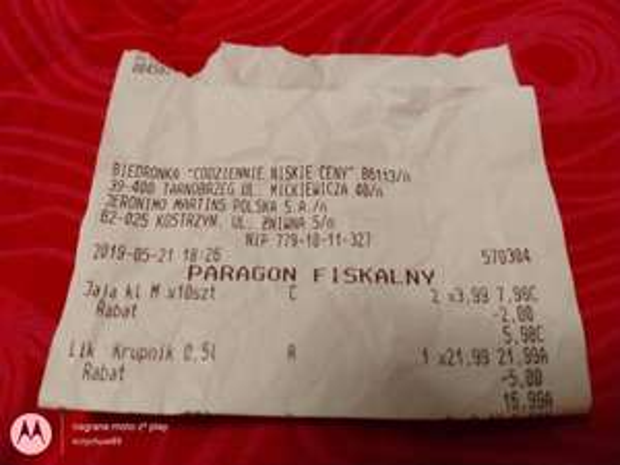 "Likier Krupnik 0.5L - smak ""Słony Karmel"" @Biedronka (Tarnobrzeg)"