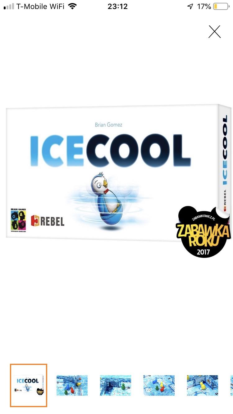 Gra planszowa IceCool Empik
