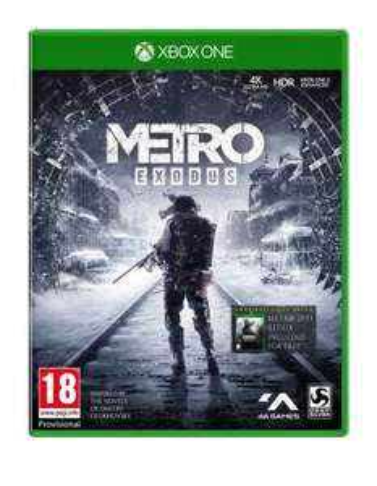 Metro Exodus Day 1 Edition + Gra Metro 2033 Xbox One