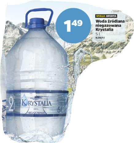 fenomenalna cena wody niegazowanej