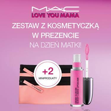 Błyszczyk + 2 miniprodukty + kosmetyczka gratis do zakupów od 199zł @ Mac Cosmetics