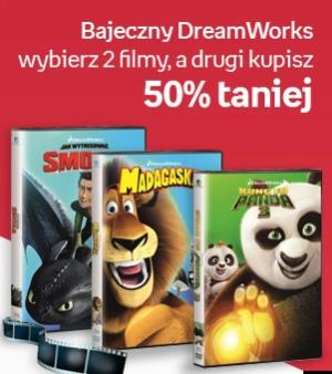 Bajki na dzień dziecka - Bajeczny DreamWorks – wybierz 2 filmy a drugi kupisz 50% taniej