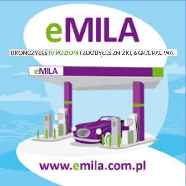 eMila rabat 6 gr/l na paliwa (paliwo)