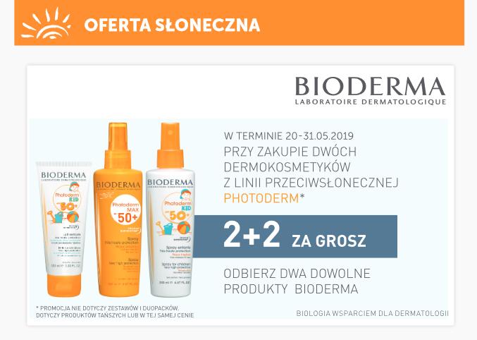 2+2 gratis na kosmetyki Bioderma Photoderm @ Ziko