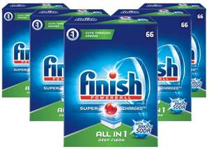 Finish All in One Soda 330szt +8monet  zestaw tabletki do zmywarki