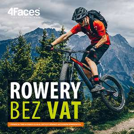 Rowery i akcesoria rowerowe bez VAT @ 4Faces