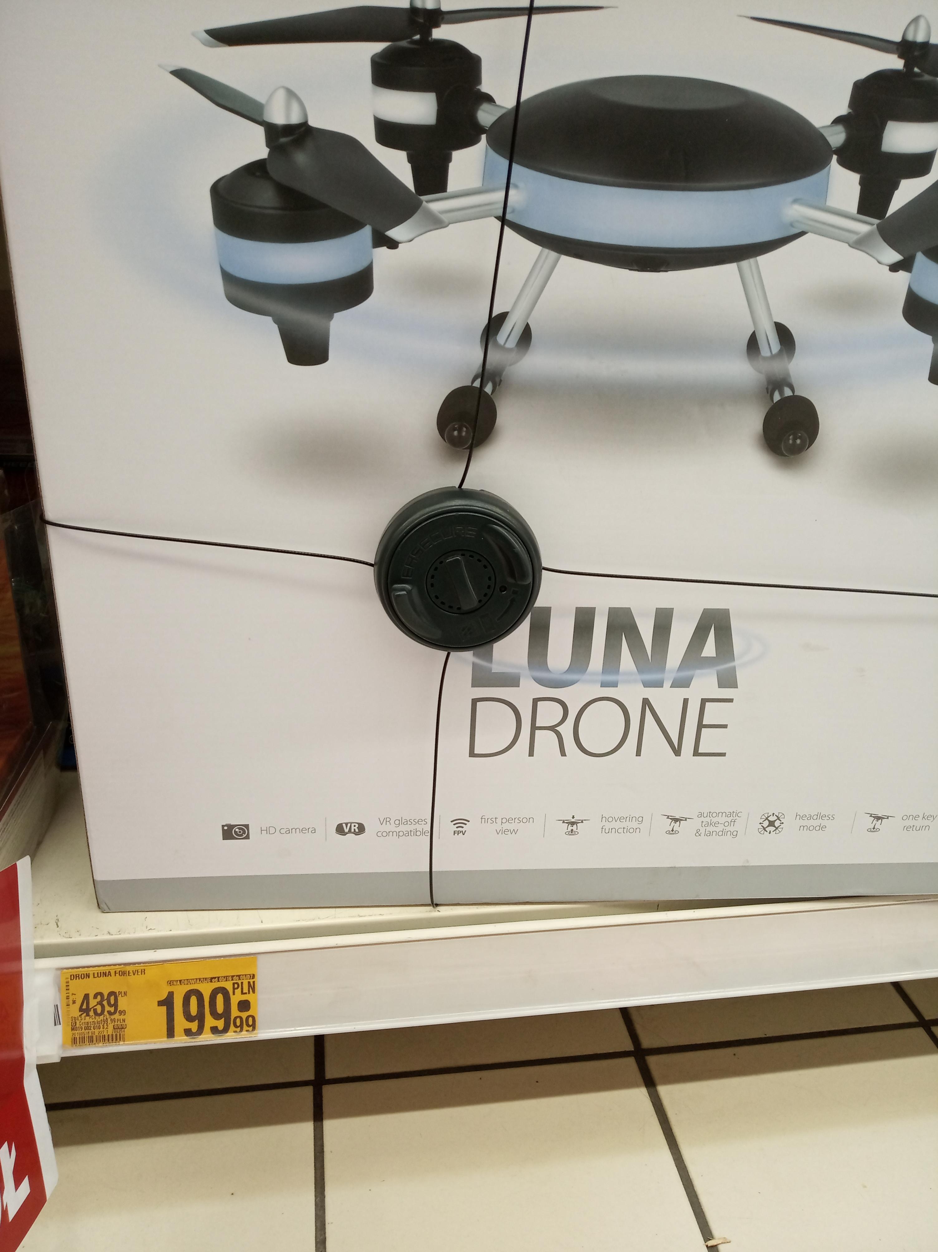 Luna DRONE i Vortex Drone , 2 Drony spotkane w Auchan ZABRZE  (platan)