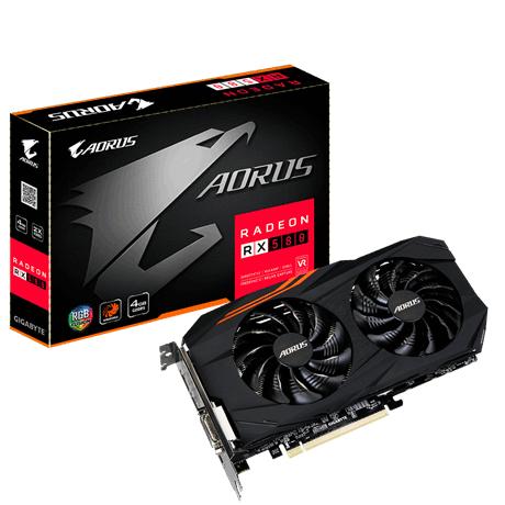 Gigabyte Radeon RX 580 AORUS 4GB w morele.net