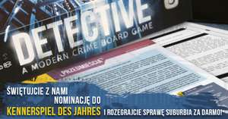Gra planszowa Detektyw, Sprawa 6: Przedmieścia - do pobrania, darmowa