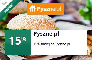mOkazja - 15% taniej na Pyszne.pl