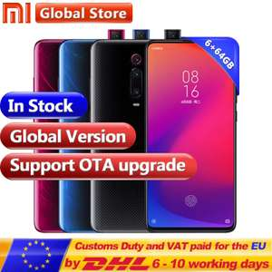 Xiaomi Redmi K20 Global Red Black